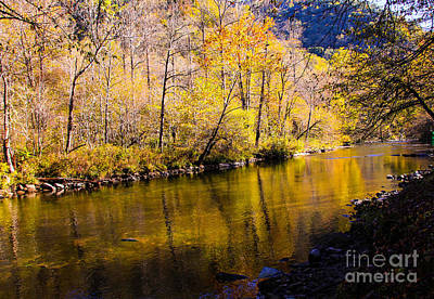 Photograph - Reflections On The Nantahala by Marilyn Carlyle Greiner