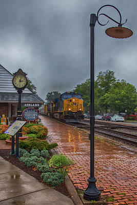 Wall Art - Photograph - Reflections On The Railroad by Cliff Middlebrook