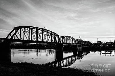Photograph - Reflections On The Red River Shreveport by Scott Pellegrin