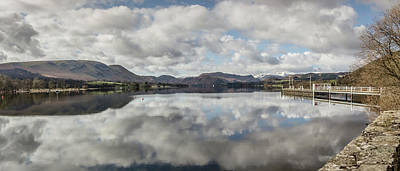 Photograph - Reflections On Ullswater by RKAB Works