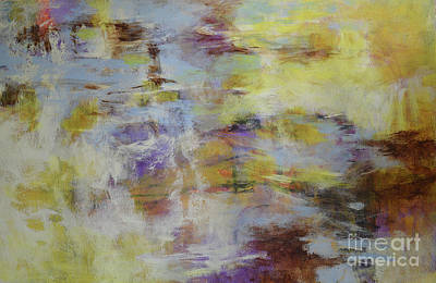 Painting - Reflections On Water by Melody Cleary