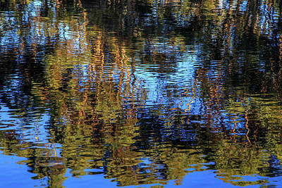 Photograph - Reflections On Water by Robert Caddy