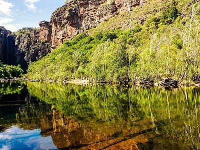 Photograph - Reflections Over Jim Jim Creek - Kakadu National Park, Australia by Lexa Harpell