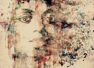 Digital Face Painting - Reflections  by Paul Lovering