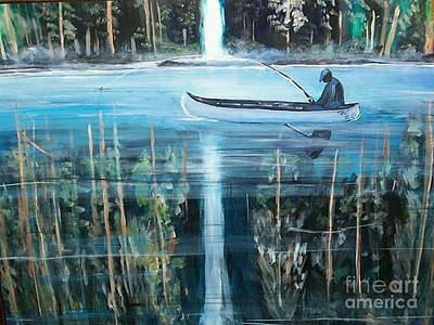 Other Painting - Reflections by Tyrone Hart