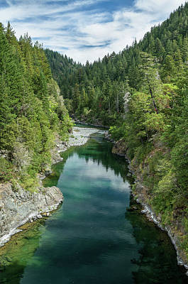 Photograph - Reflections Up The Smith River by Greg Nyquist