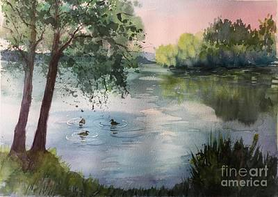 Painting - Reflections by Yohana Knobloch