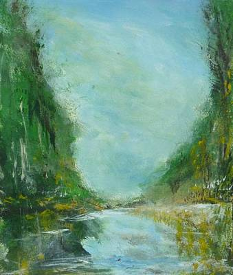 Wildwood Park Painting - Reflections by Yossi Sigura