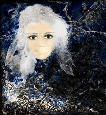 Intuitive Digital Art - Reflectionsii by Patricia Motley