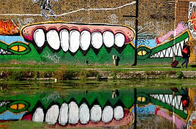Reflective Canal 13 Art Print by Jez C Self