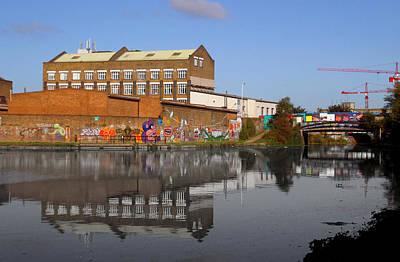 Reflective Canal Art Print by Jez C Self