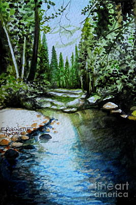 Painting - Reflective by Elizabeth Robinette Tyndall