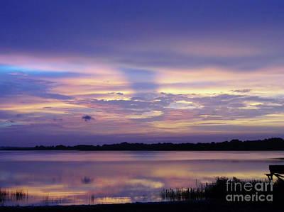 Photograph - Reflective Lake Beauty by D Hackett