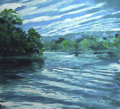 Reflective Landscape Art Print by Dan Terry