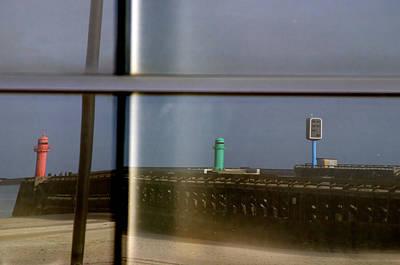 Reflective Lighthouses Art Print by Jez C Self