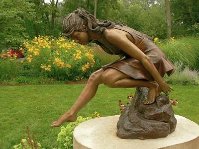 Sculpture - Reflective Moments by Ruth Gee