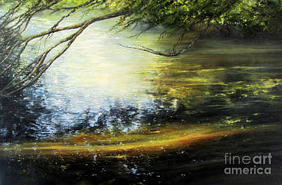 Painting - Reflective Mood by Valerie Travers