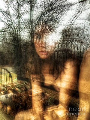 Nudes Digital Art - Reflective Thoughts by Steven Digman