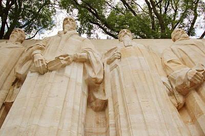 Photograph - Reformation Wall In Bastions Park, Geneva, Switzerland by Elenarts - Elena Duvernay photo