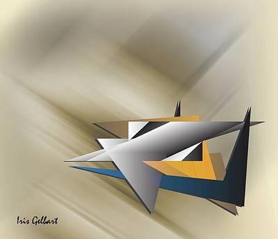Digital Art - Aviation by Iris Gelbart