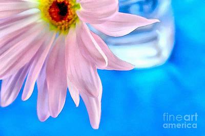 Daisy Photograph - Refresh The Day by Krissy Katsimbras