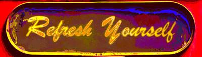 Huisken Digital Art - Refresh Yourself by Lyle  Huisken