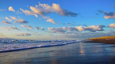Photograph - Refreshing Blues Delray Beach Florida by Lawrence S Richardson Jr