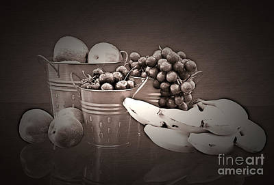 Photograph - Refreshing Fruit No Color Needed by Sherry Hallemeier