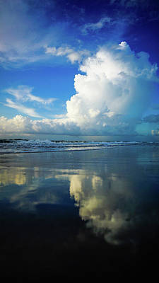 Photograph - Refreshing Reflection Delray Beach Florida by Lawrence S Richardson Jr