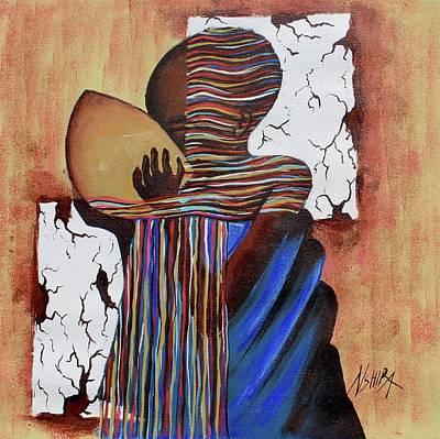 Painting - Refreshment by Daniel Akortia