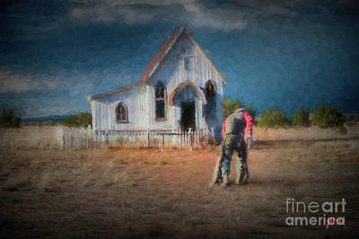 Digital Art - Refuge by Jim  Hatch