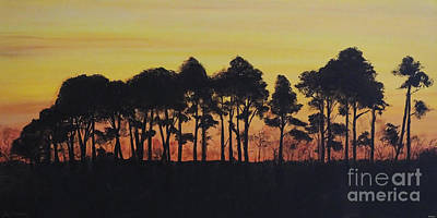 Painting - Refuge Sundown by Lizi Beard-Ward