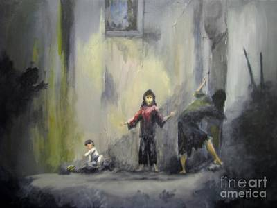 Painting - Refugees by Patricia Kanzler