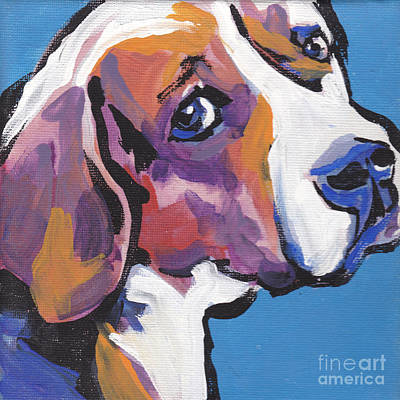 Beagle Puppies Painting - Regal Beagle by Lea S