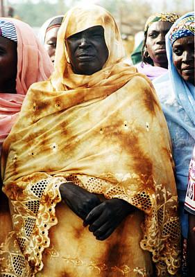 Photograph - Regal Kanuri Women by Muyiwa OSIFUYE