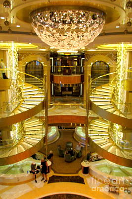 Photograph - Regal Princess Piazza 2 by Randall Weidner