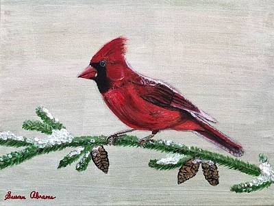 Painting - Regal Red by Susan Abrams