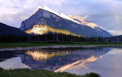 Photograph - Mount Rundle by Heather Vopni