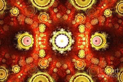 Digital Art - Regal Sundials by Kim Sy Ok