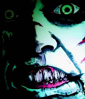 Regan Exorcist Art Print by Sam Hane
