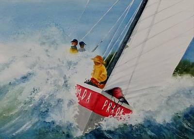 Painting - Regatta by Becky Taylor