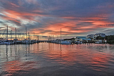 Photograph - Regatta Point At Sunset by HH Photography of Florida