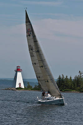 Photograph - Regatta Time In Baddeck, Nova Scotia by Tatiana Travelways