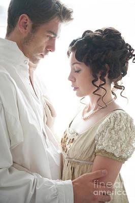 Empire Waist Photograph - Regency Couple by Lee Avison
