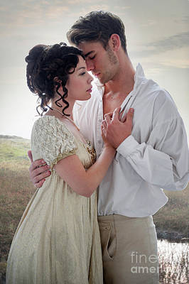Photograph - Regency Couple On The Moors by Lee Avison