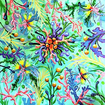 Painting - Regenerate by Sandra Lett