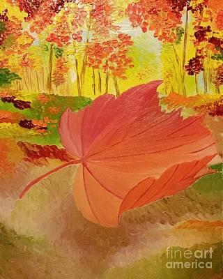 Regeneration Painting - Regeneration by Roxane Gabriel