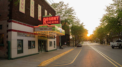 Photograph - Regent Theatre by Jared Windler