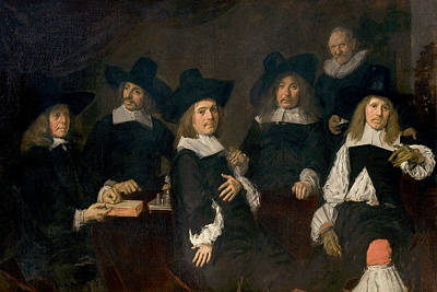 Painting - Regents Of The Old Men's Alms House by Frans Hals