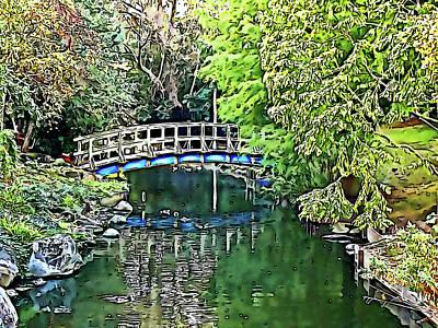 Photograph - Regents Park Bridge by Phil Dynan